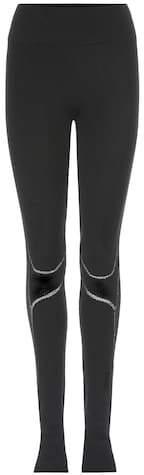 Y-3 Sport Fine Knit Tight wool-blend leggings
