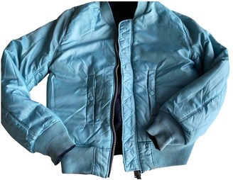 Alpha Industries Blue Polyester Jackets