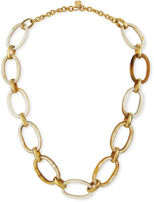 Ashley Pittman Bwana Light Horn Necklace