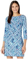 Lilly Pulitzer UPF 50+ Sophie Dress (Zanzibar Blue Meet Me On The Dock) Women's Dress