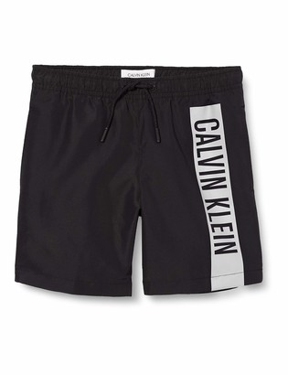 Calvin Klein Boy's Medium Drawstring Swim Shorts