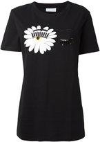 Chiara Ferragni embellished eyes T-shirt - women - Cotton - XS