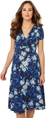 Joe Browns Flattering Jersey Dress - Navy