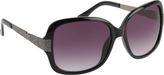 Rocawear Women's R3197 Textured Rectangle Sunglasses