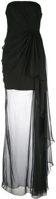 Cinq à Sept Yuki solid gown