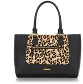 Iman Global Chic Leather & Suede Luxe Satchel