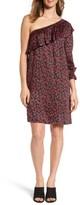 Velvet by Graham & Spencer Women's One-Shoulder Print Shift Dress