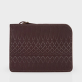 Paul Smith No.9 - Brown Leather Wallet Pouch