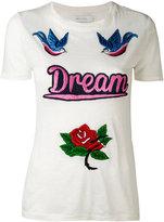 Ash Bird T-shirt - women - Linen/Flax - S