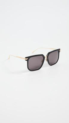 Bottega Veneta Combi Squared Feminine Sunglasses