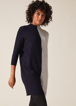 Phase Eight Chloe Colourblock Knitted Tunic