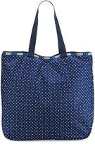 Le Sport Sac Le Zip Printed Tote Bag