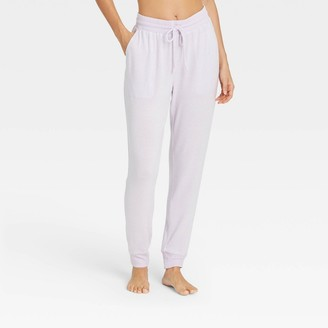 Stars Above Women's Striped Perfectly Cozy Lounge Jogger Pants - Stars AboveTM