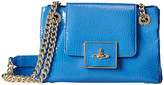 Vivienne Westwood Double Strap Orb Shoulder Bag