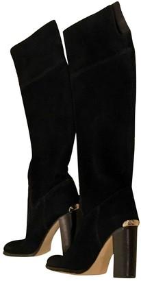 Michael Kors Black Leather Boots