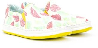 Camper Kids TWS seashell print sneakers