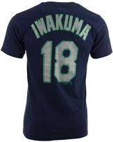 Majestic Men's Short-Sleeve Hisashi Iwakuma Seattle Mariners Player T-Shirt