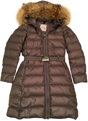 Moncler Long Purple Coat for Women