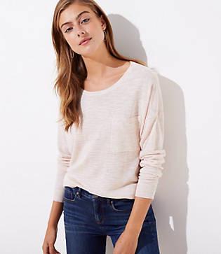 LOFT Pocket Sweater
