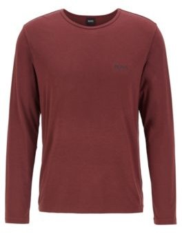 BOSS Long-sleeved underwear T-shirt in heat-retaining stretch fabric