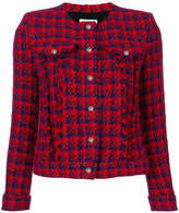IRO checked button jacket