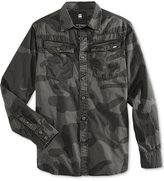 G Star Men's 3301 Camo Shirt
