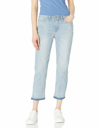 Signature by Levi Strauss & Co. Gold Label Women's Mid Rise Boyfriend Released Hem Jeans