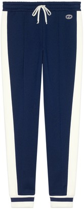 Gucci Jersey piquet jogging pant