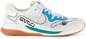 Gucci Ultrapace distressed panelled sneakers