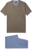 Hanro - Harvey Cotton-jersey Pyjama Set
