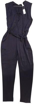 Eres \N Purple Silk Jumpsuits
