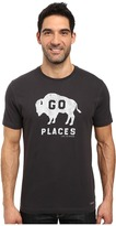 Life is Good Go Places Buffalo Crusher Tee