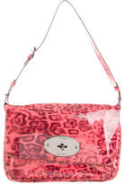 Mulberry Patent Leather Leopard Print Bag