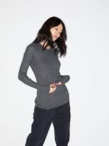 Raey Crew-neck Fine-rib Cashmere Sweater - Womens - Charcoal