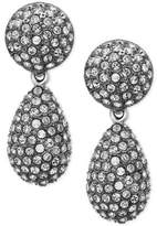 Nina Pavé Teardrop Earrings