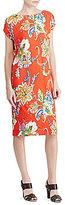 Lauren Ralph Lauren Floral-Print Midi Shift Dress