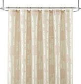 Liz Claiborne Bijoux Flocked Floral Shower Curtain Display