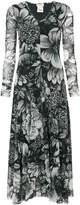 Fuzzi floral print dress