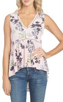1 STATE Women's 1.state Floral Print Tank