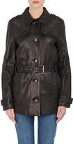 J Brand WOMEN'S ARROW LEATHER TRENCH COAT