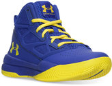 Under Armour Boys' Jet Mid Basketball Sneakers from Finish Line