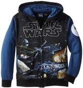 Star Wars Boys' Deep Stars T-Shirt Hoodie