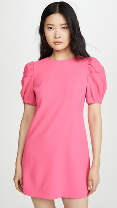 Alice + Olivia Hanita Puff Sleeve Shift Dress