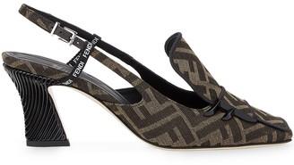 Fendi FFreedom slingback court shoes