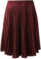 Jean Paul Gaultier Vintage pleated lamé skirt