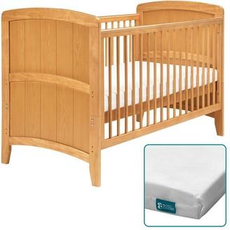 East Coast Nursery Venice Cot Bed & Fibre Mattress