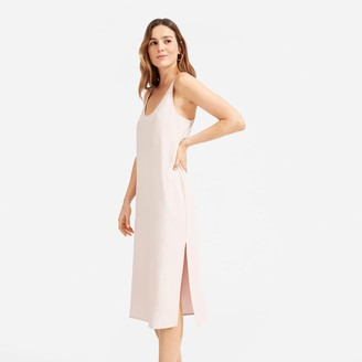 Everlane The Japanese GoWeave Long Slip Dress