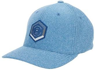Travis Mathew Bottled Up (Heather Blue Opal) Baseball Caps