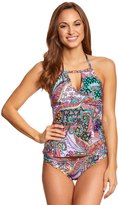 Kenneth Cole Reaction Gypsy Gem High Neck Tankini Top 8151097