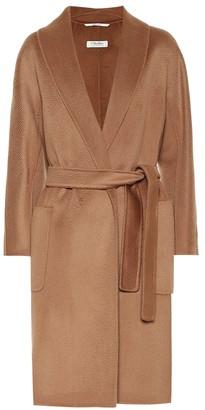S Max Mara Alicia wool and cashmere coat